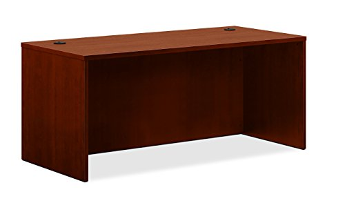 HON BL Laminate Series Office Desk Shell - Rectangular Desk Shell, 66w x 30d x 29h, Medium Cherry (HBL2102)