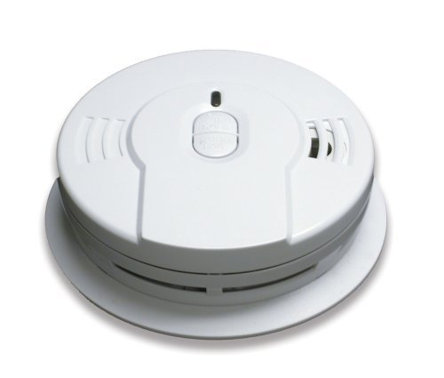 4 Pack of Kidde i9010 10-Year Sealed Lithium Battery-Operated Smoke Alarm with Memory and Smart Hush by Kidde