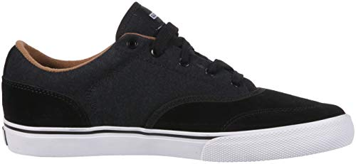 Globe Tribe Skate Shoe Black Brown Tobacco Men's 7Hrqw47