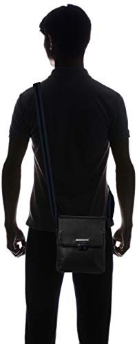 Uomo Bags Armani Exchange Borsa Messenger Nero RwIUIqx