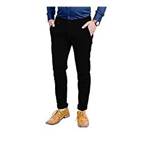 AOLOPY-9 Men's Slim Fit Casual Trouser