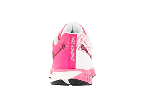 Nike Wmns Air Zoom Fly 2, Zapatillas de Running para Mujer Rosa (Pnk Blast / Blk-Elctrc Grn-White)