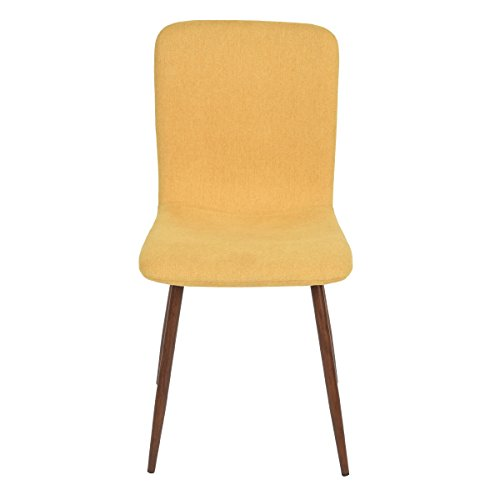 eames style fabric cushion chairs comfortable dining room chairs