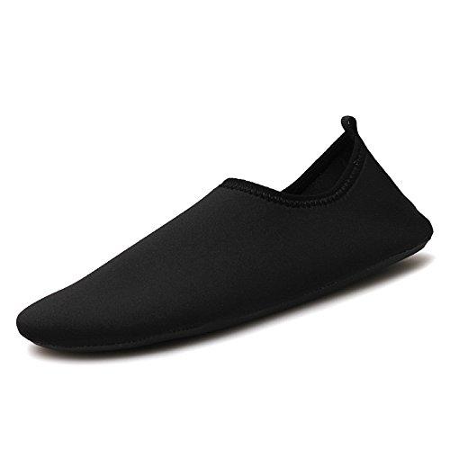 Natación zapatos deportes rojo zapatillas libre zapatos SK descalzo al transpirable de 7 negro Lucdespo aire puro qdCwSq