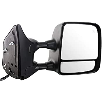 Kool Vue Power Towing Mirror For 2004-2005 Nissan Titan Driver Side Heated