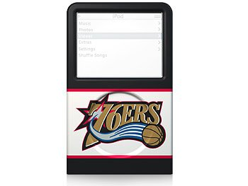 (XtremeMac IPV-LTP3-7003 Iconz for iPod (video 30)-Phil. 76ers)