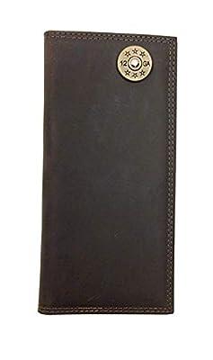 Zeppelin Products Light Brown Crazy Horse Long Roper Wallet