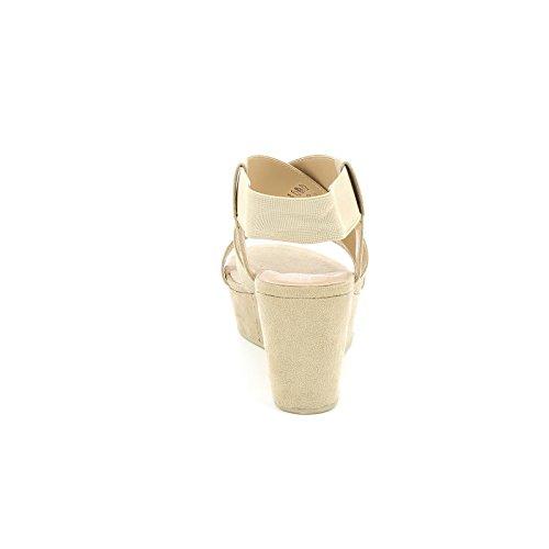 Beige Zeppe Fasce amp;scarpe Obsel By Scarpe Con Elastiche g8qwt0wx