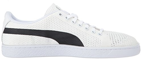 Puma Basket Klassieke Evoknit Fashion Sneaker Puma Wit-puma Blac