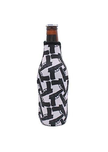 Beer Bottle Cooler/sleeve/Bottle Neck (Guns)