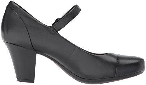 Pump Garnit Clarks Tianna Leather Black Women's Dress xOp5Iq