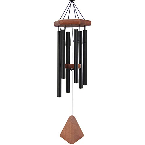 Amazing Grace Wind Chimes Outdoor, 28' Tuned Wind Chimes are Tuned to Produce Soothing Music in Memory of Favorite People and Places, Sympathy Wind Chimes for Garden, Patio, Balcony and Home Décor. Review