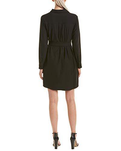 Shirtdress Womens Black Bobi Belted M Bobi Black w7UnUxa