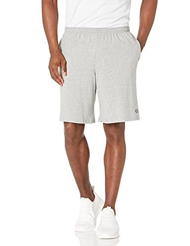 Champion Men's Jersey Short With Pockets, Oxford