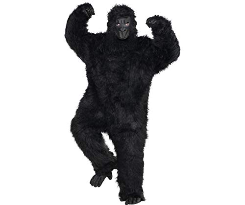 AMSCAN Gorilla Halloween Costume for Adults, Plus Size, with Included Accessories for $<!--$63.99-->