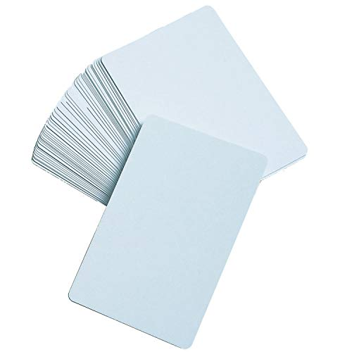 LEARNING ADVANTAGE - CTU7387 Blank Playing Cards, Glossy - DIY Game Cards, Memory Game, Flash Cards by Learning Advantage Multi