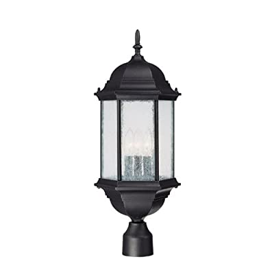Capital Lighting Main Street 3-Light Outdoor Post Lantern