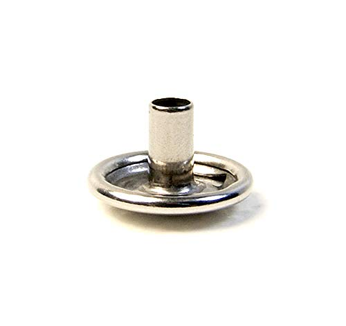 - Snap Cap & Socket Only, Stainless Steel, Long Post on The Cap, 1/4