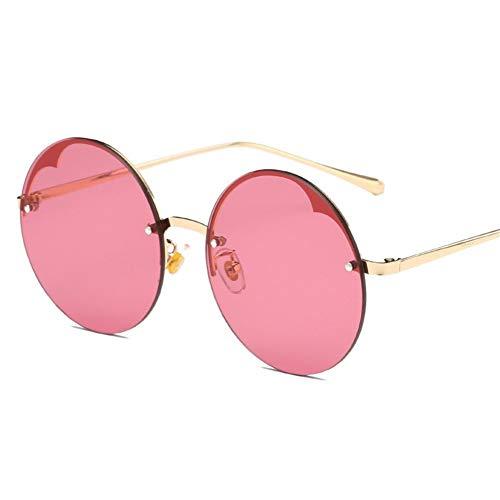 de lunettes soleil américain style et de dames européen rondes NIFG D Lunettes de mode sans soleil cadre qE6WnOwC