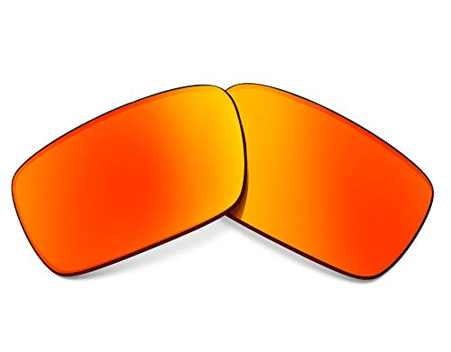 Replacement Lenses Compatible with OAKLEY Crankshaft Polarized Red ()