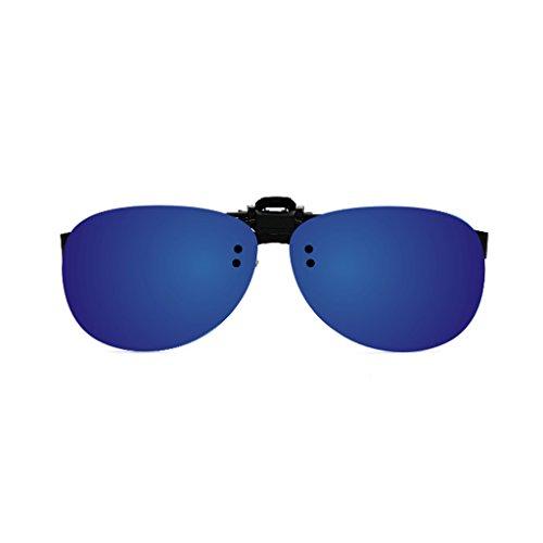 Femeninas Miope Color YUBIN The Clips Sol Clip New Hipster Gafas Reflectivas Gafas Light Gafas B E De Mirror Frog Polarized Mirror Mirror Sol De Driver Masculinas wTxgqZCw