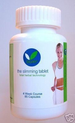 Silver Slimming Tablets 4 Wks Course 85 Diet Pills