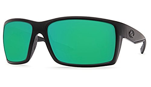 Costa Reefton Sunglasses Blackout / Green Mirror 580G & Cleaning Kit - Del Reefton Mar Costa