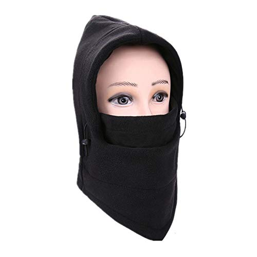va Windproof Ski Face Mask Winter Motorcycle Neck Warmer Tactical Balaclava Hood Polyester Fleece for Women Men Youth Snowboard Cycling Hat Outdoors Helmet Liner Mask, 1 Piece (A) ()