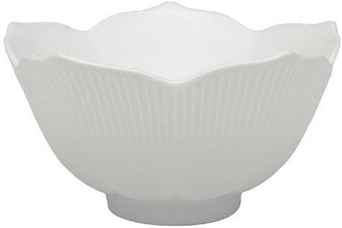BIA Cordon Bleu White Porcelain 6-Ounce Lotus Bowls, Set of 6