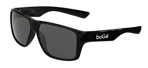 Bollé Brecken Lunettes de Soleil Mixte Noir brillant