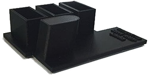 RangeTray Smith & Wesson M&P Shield 9mm & 40 Caliber Stand and Magazine Holder - Choose from 8 (Black)