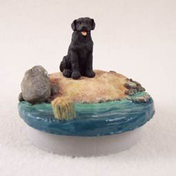 Conversation Concepts Miniature Labrador Retriever Black Candle Topper Tiny One