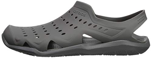 Crocs Men's Swiftwater Wave M Water Shoe, Slate Grey, 4 M US by Crocs (Image #5)