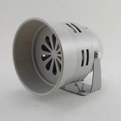 FidgetFidget Mini Plastic Industrial Alarm Sound Motor Siren 130dB Gray MS-290 110VAC