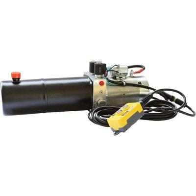NorTrac 12 Volt DC Hydraulic Power Unit - Double-Acting Cylinder, Model# YBZ5-F2.1A1A61/WUATT2