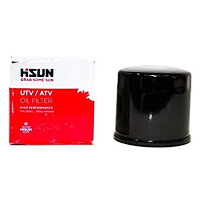 Oil Filter Genuine OE Hisun Oil filter for 250cc thru 750cc ATVs UTVs by VMC CHINESE PARTS UTV's & Side by Side's: Automotive