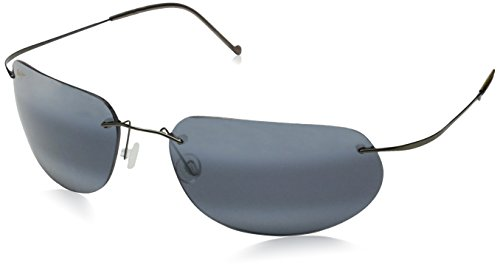 Maui Jim Ka'anapali,Gunmetal Frame/Neutral Grey Lens,one - Jim Maui Sport Titanium