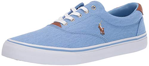 Polo Ralph Lauren Men's Thorton Sneaker, Collin Blue, for sale  Delivered anywhere in USA