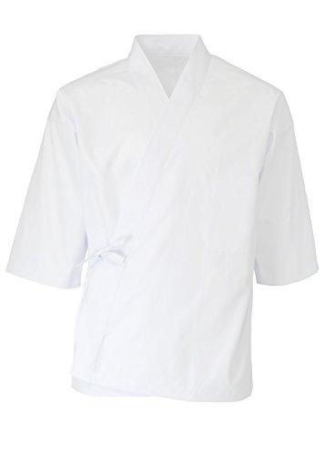 (센 행운) SENTSUKI 조리의 일본풍 백의 반(半)고지 않겠 백옷깃7 분수일본제(MADE IN JAPAN) 전4사이즈 화이트 45200