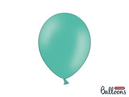 50 Piezas Globos Balón Látex 27cm Color Tiffany: Amazon.es: Hogar