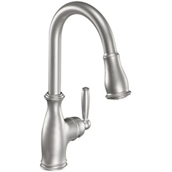 Moen 7185csl Brantford One Handle High Arc Pulldown