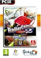 New Sold-Out Software Roller Coaster Tycoon 2 Deluxe Compatible With Windows Xp/Vista/Windows 7