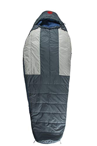 OmniCore Designs Multi Down Mummy Sleeping Bag -10°F / -23.3℃ with Compression Stuff Sack and Storage Mesh Sack, Tall - Up to 6'8