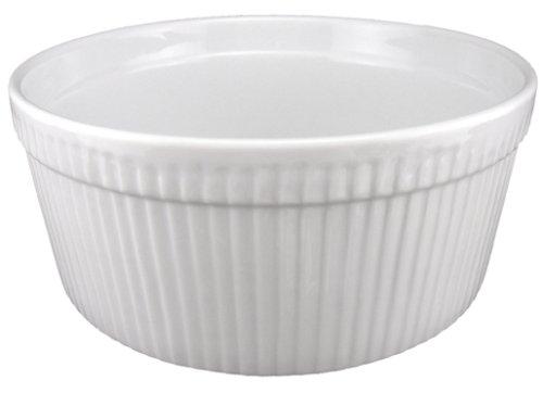 BIA Cordon Bleu 1-Quart Souffle, White