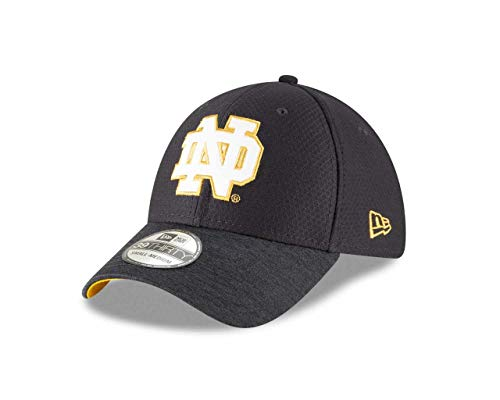 the latest edbca d1c9d New Era Notre Dame Fighting Irish Adult NCAA Popped Shadow Fitted Hat –  Team Color,