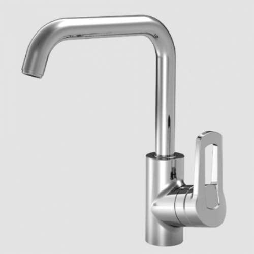 KWC 10.191.003.000 Ava Single-Hole Side-Lever Kitchen Faucet with ...