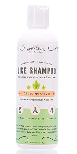 Shampoo - Natural DIY Home Lice Prevention - Safe for Kids Adults & Family -Prevent Super Lice Louse Nits Eggs with Our Fast Easy Pro Prevention Product- Formula Clears Head Scalp & Hair