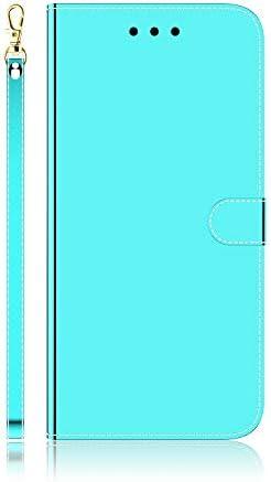 Docrax iPhone 7 Plus/iPhone 8 Plus ケース 手帳型 スタンド機能 財布型 カードポケット マグネット アイフォン7Plus / 8Plus 手帳型ケース レザーケース カバー - DOTXI170030 緑