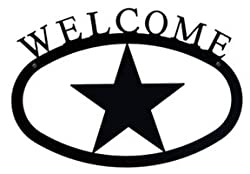 11 Inch Star Welcome Sign Small