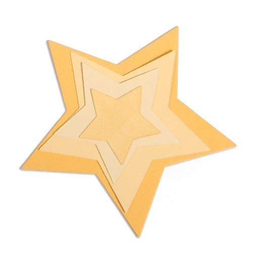 Sizzix Framelits Die Set 5//PK Stars